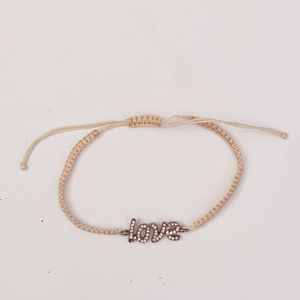 LC Lauren Conrad Pink Love Slipnot Bracelet